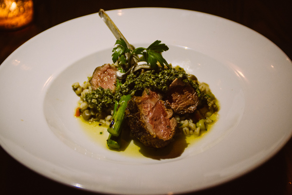 lamb at Dale Levitski's Sinema in Nashville, Tennessee
