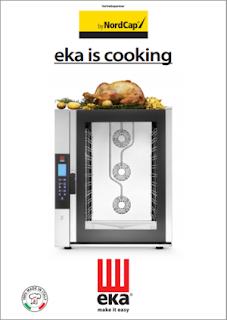 Nordcap, Kataloge, Tecnoeka,eka is cooking, eka ist kochen