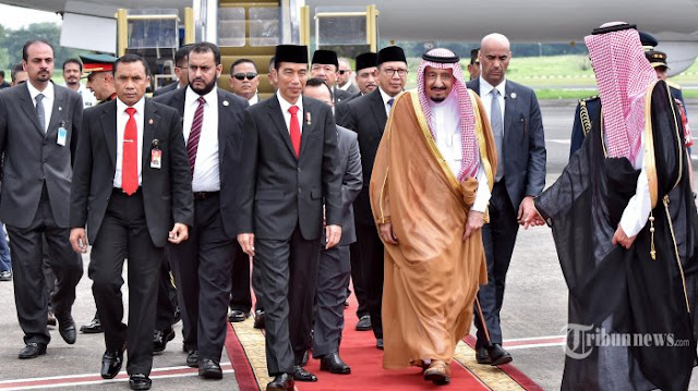 Begini Kesan King Salman Terhadap Jokowi yang Ditulis Media Arab