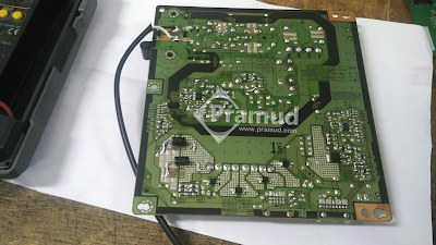 bagaimana cara memperbaiki rangkaian card psu power supply led tv samsung ua40h5003 - pramud blog