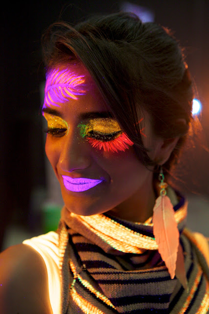 fluor-make-up