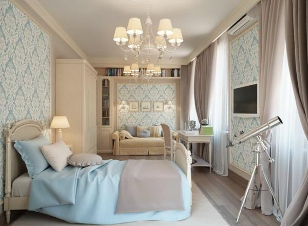 decorar apartamento feminino azul