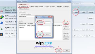 Cara memblokir situs tertentu di browser (Mozilla firefox)