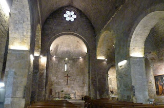 Iglesia de Sant Vicenç en Besalú.