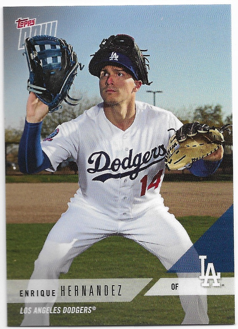 98880bf1 kiké hernandez is a fan favorite, and i enjoy this card the same way i  enjoy the 'big glove' mickey hatcher and yasiel puig cards from years past  even ...