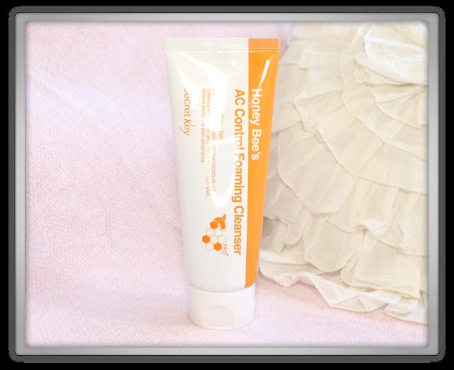 Secret Key Honey Bee's AC Control foaming cleanser spot remover haul review fail beauty blogger blog korean skincare beautynetkorea