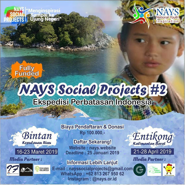 Program Nays Social Projects #2 2019 Umum