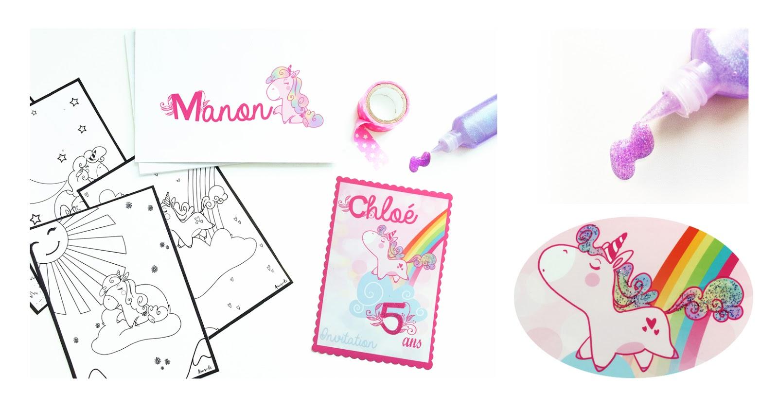 Pour celles qui ont des petites filles qui aiment colorier les licornes ou pour celle qui aiment tout simplement les licornes