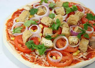 Cara mudah membuat pizza ayam