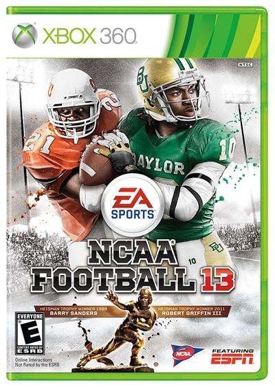 NCAA Football 13 Xbox 360 Ingles Region Free Descargar NTSC 2012