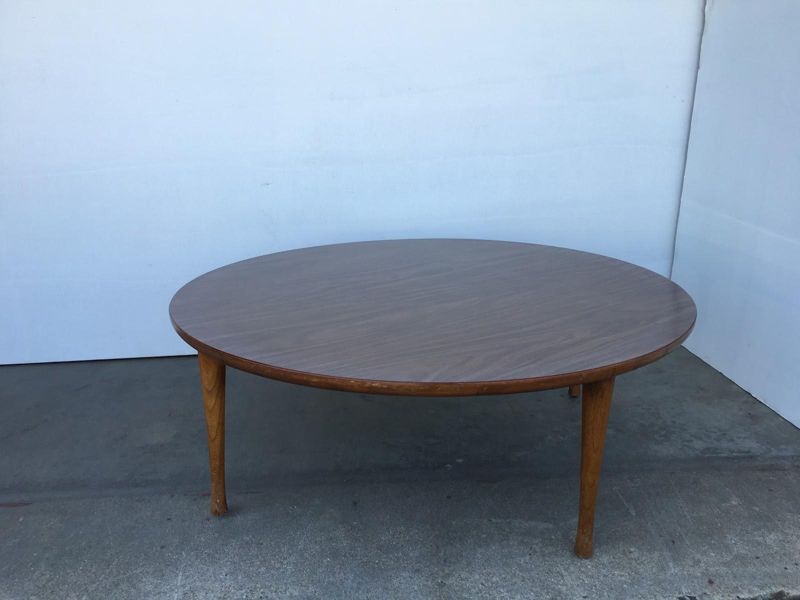 SKU 2050 Mid Century Modern Round Coffee Table