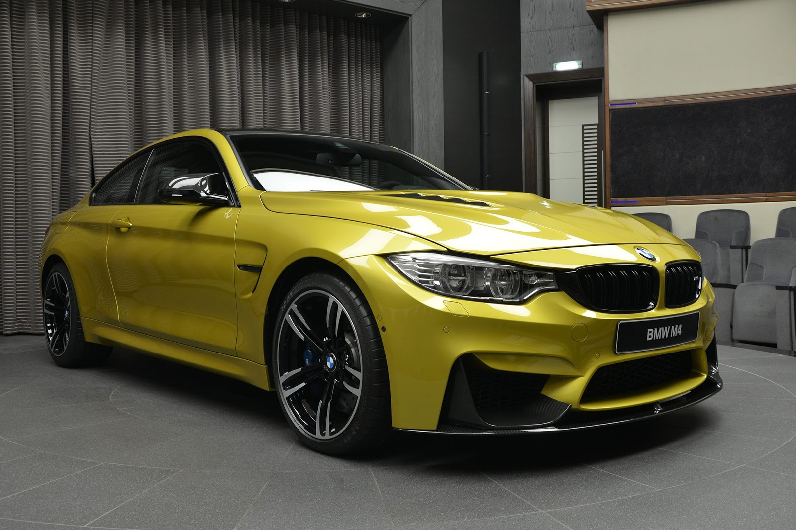 Austin Yellow Bmw M4 Laden With M Performance Parts Is Near Perfect Types Cars