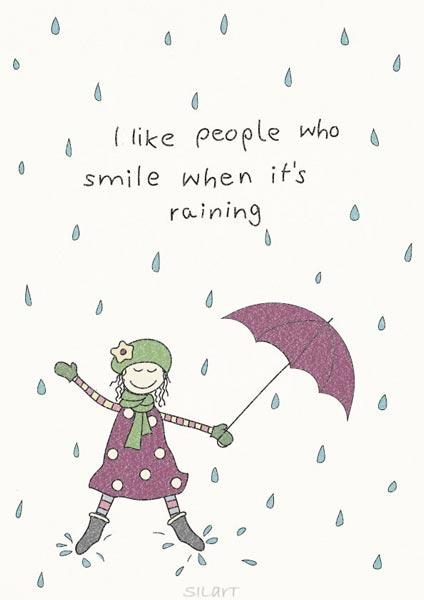 I like people who smile