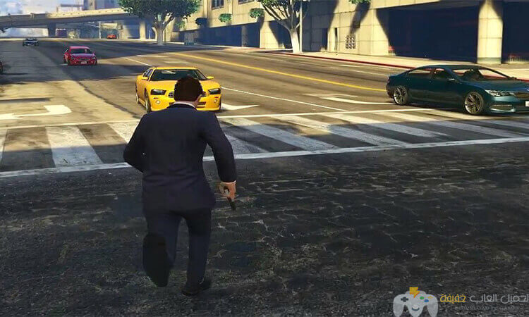 تحميل لعبة جاتا 5 GTA للكمبيوتر برابط واحد