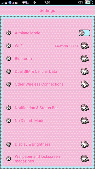Oppo Theme: Oppo Hello Kitty Gang Theme