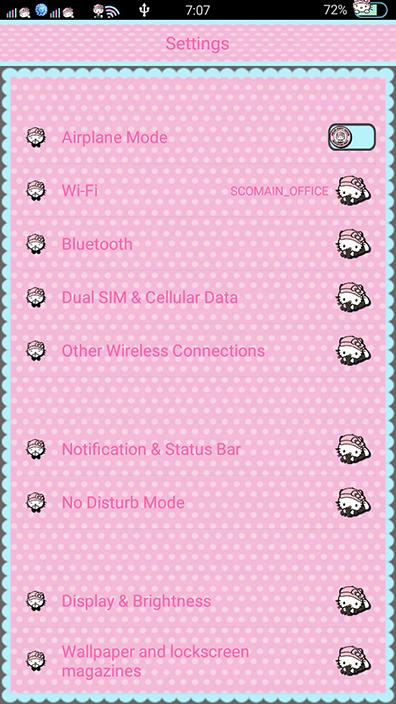 Oppo Theme: Oppo Hello Kitty Gang Theme