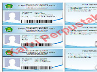 Download Kartu Perpustakaan Sederhana Gak Pake Ribet