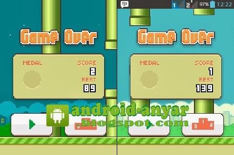 Trik Ampuh Cara Cepat Dapat Score Flappy Bird Tinggi di Android