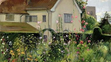 Jardines de Timothy Easton. Óleo sobre lienzo