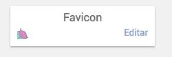 cambiar favicon blogger