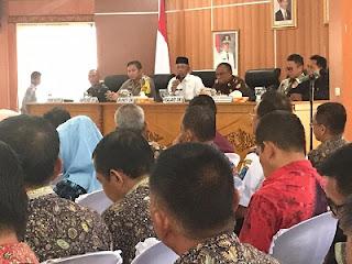 Serahkan DPA 2019, Iskandar Ingin OPD Kerja Cepat