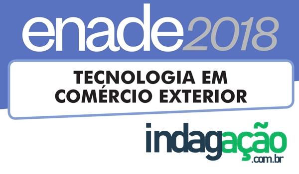 prova-tecnologia-em-comercio-exterior-enade-2018-com-gabarito