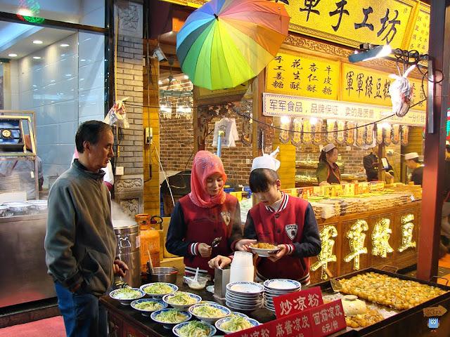 Barrio Musulman - Xi'an - China