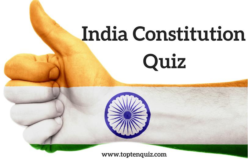 India Constitution Quiz