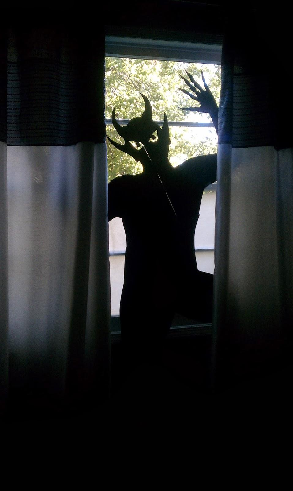 Nadia S Diy Projects Diy Halloween Window Silhouettes