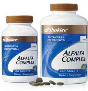 fungsi dan kebaikkan alfafa complex shaklee