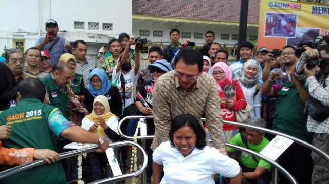 Ahok: Pemprov DKI sedang memesan 250 Bus Ramah Penyandang Disabilitas