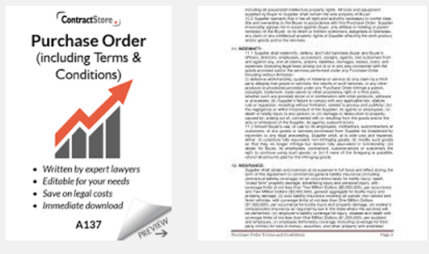 Time To Us – Is a Purchase Order a Legal Document