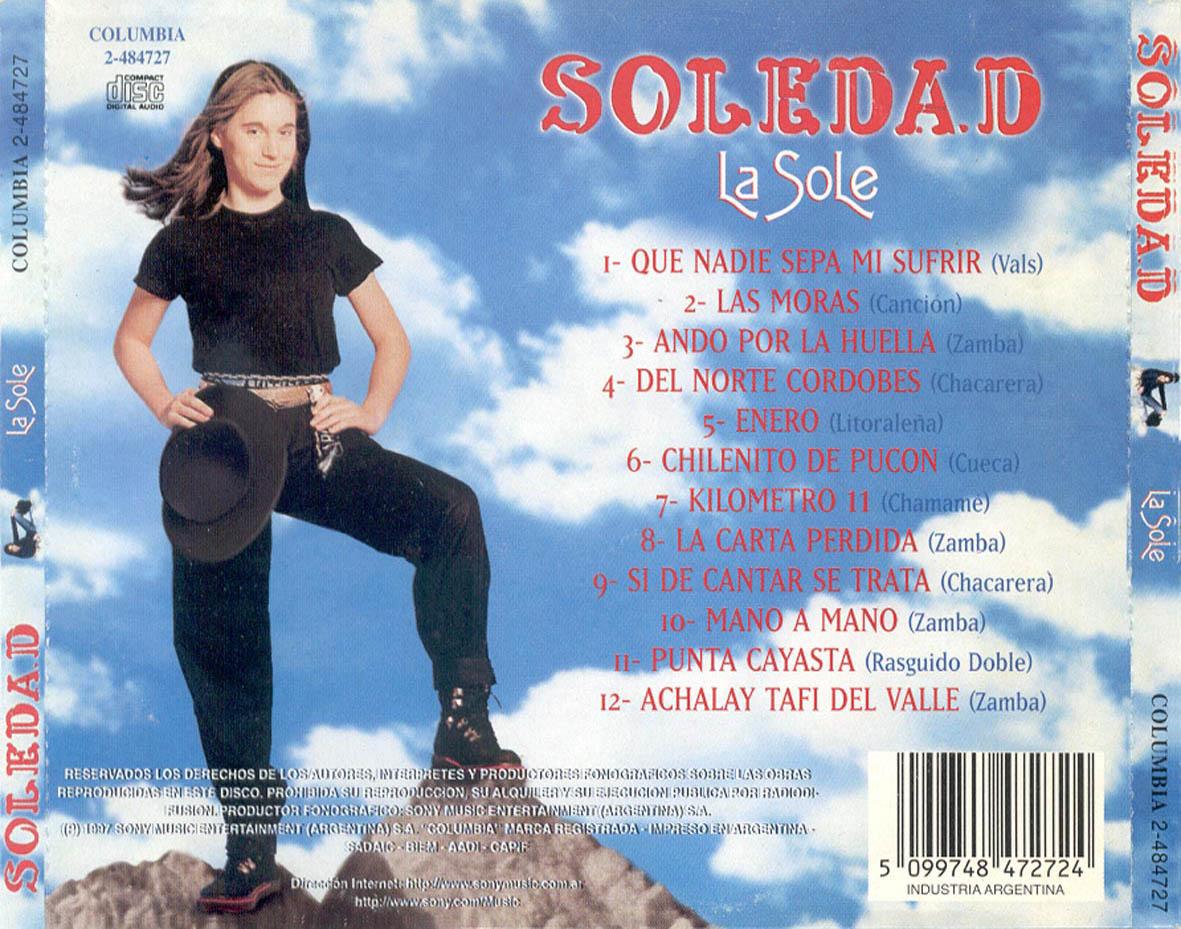 discografia completa de soledad pastorutti