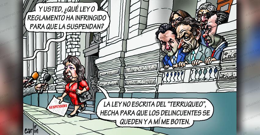 Carlincaturas Miércoles 8 Mayo 2019 - La República