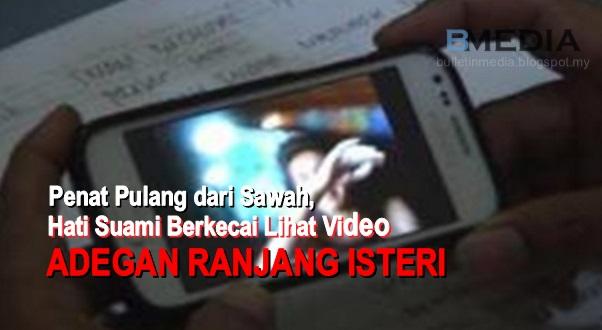TERBONGKAR !!! Penat Pulang dari Sawah, Hati Suami Berkecai Lihat Video Adegan Ranjang Isteri dengan Jiran Sebelah Rumah