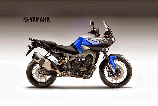 Yamaha MT-09 Tenere Concept Oberdan Bezzi