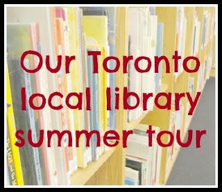 library tour button