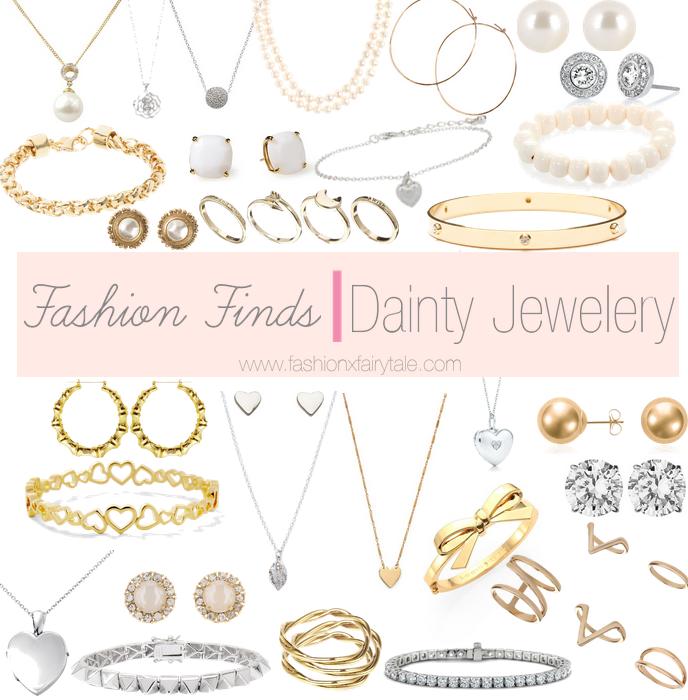 Fashion Finds | Dainty Jewelery