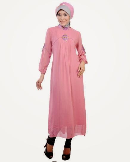 Model Baju Muslim Wanita Elegan 2017