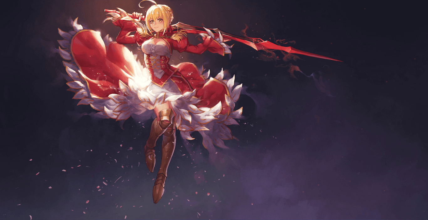 Nero Claudius[ネロ] Saber [セイバー] Fate Extella [Wallpaper Engine Anime]