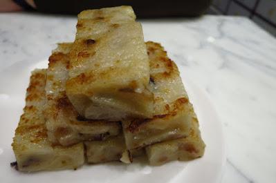 Ho Hung Kee, radish cake