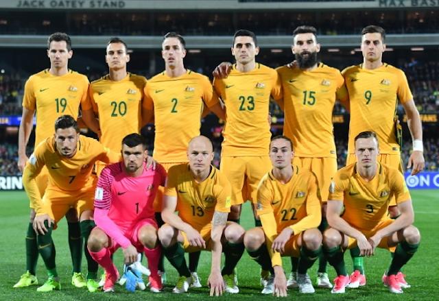 Australia Team Squad FIFA 2018