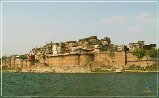Forte Ramnagar em Varanasi Índia