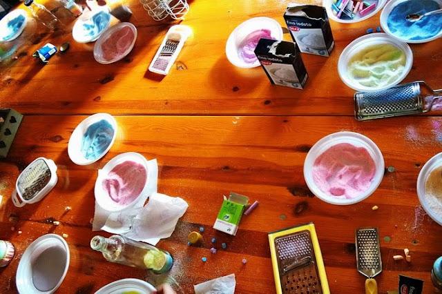 laboratori sui colori per bambini