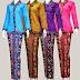 Model Baju Batik Pramugari Berjilbab