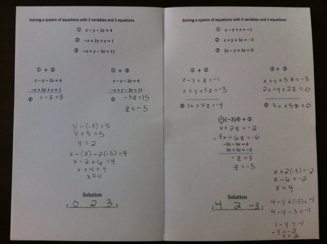 Hands On Math In High School