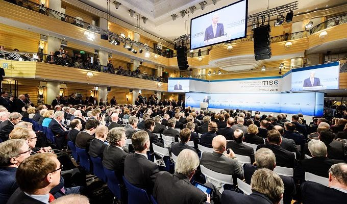 Crisis in Ukraine was a key theme of the international security conference in Munich.