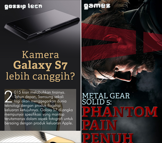 Tech Kingdom - Majalah Digital Interaktif Berinformatif Terkini