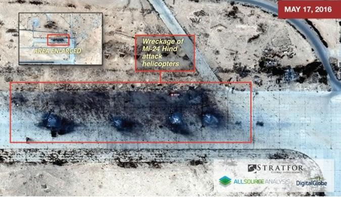Росія втратила у Сирії 19 літаків і гелікоптерів