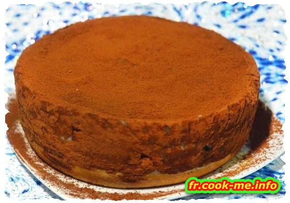Gâteau cacao gingembre